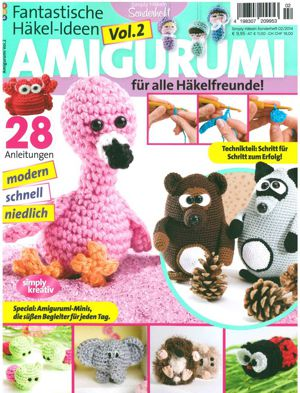 50 Cutest FREE Amigurumi Patterns and Tutorials - ListInspired.com | 393x300